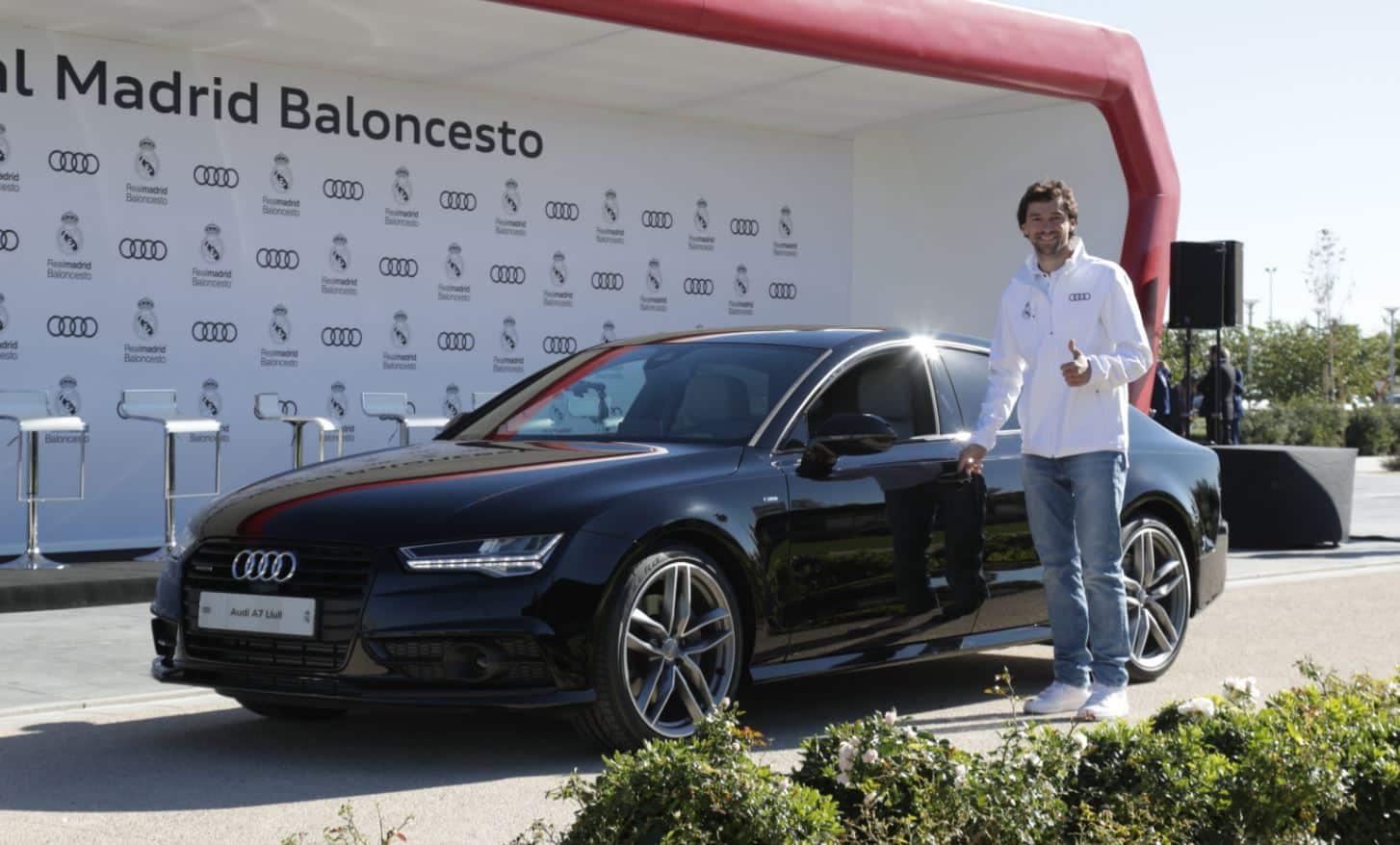 Audi para todos!: Los jugadores del Real Madrid Baloncesto reciben ...