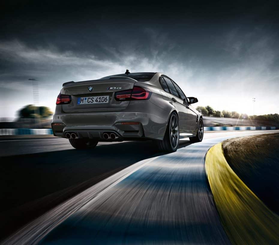 BMW M3 CS: La edición limitada más exclusiva del M3 llegará en marzo de 2018 con 460 CV