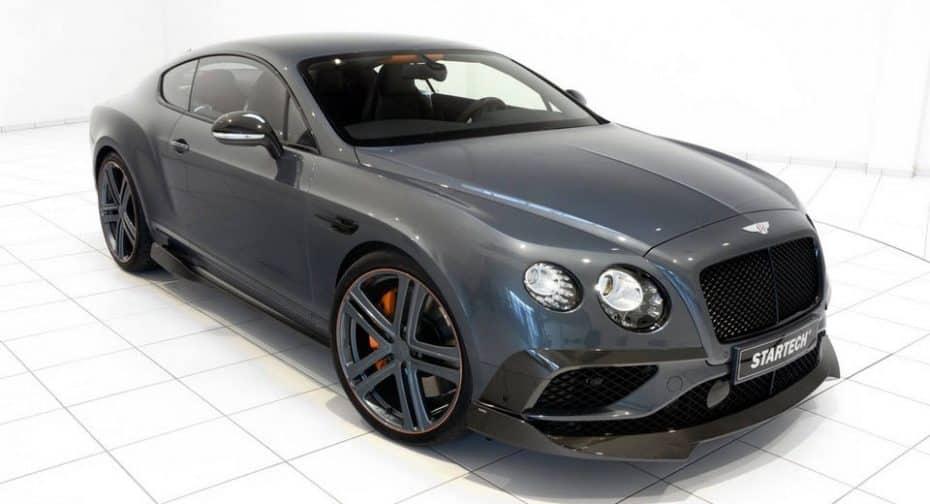 Startech cree que lujo y tuning pueden ir de la mano: Esta es su propuesta para el Continental GT Speed