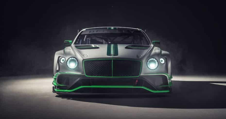 Así es el Bentley Continental GT3: La segunda generación también buscará la gloria en los circuitos