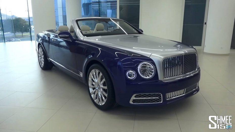El Bentley Grand Convertible finalmente verá la luz como edición limitada: Así es el 'Mulsanne Cabrio'