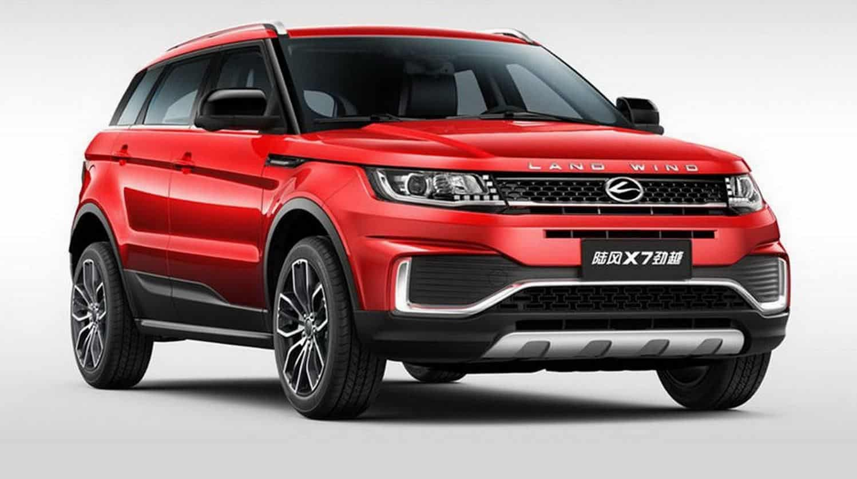 La copia China del Evoque sufre un restyling y ahora cuenta con piezas similares a las de Ford y Mercedes…