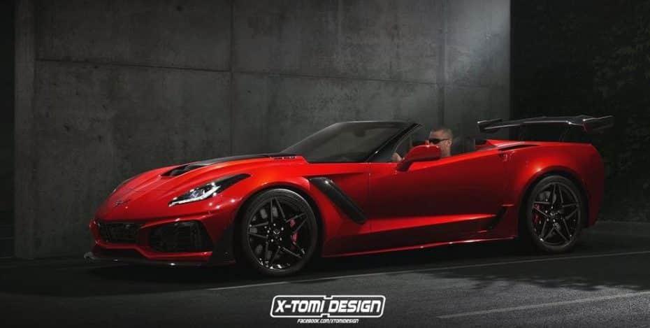 Si Chevrolet te sorprendió con el Corvette ZR1, hoy X-Tomi Design te hará soñar con su versión cabrio