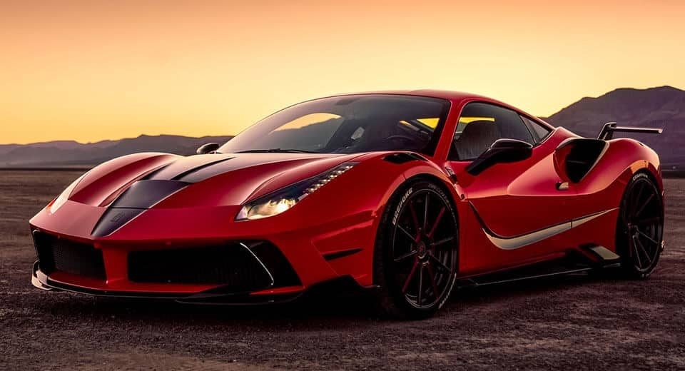 Mansory tiene preparada una nueva bestia italiana: Casi 800 CV para el Ferrari 488 GTB