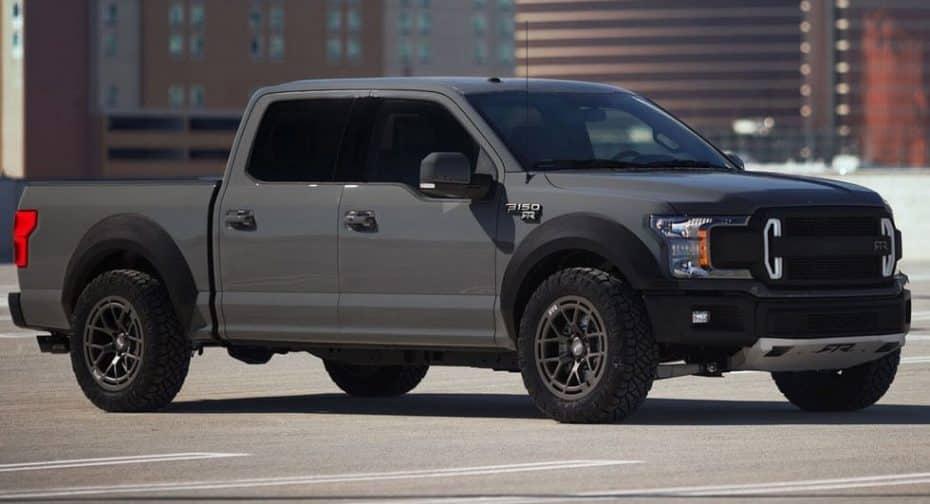 Ford F-150 RTR Muscle Truck Concept: 600 CV de 'pick up' con los que soñarás a todas horas