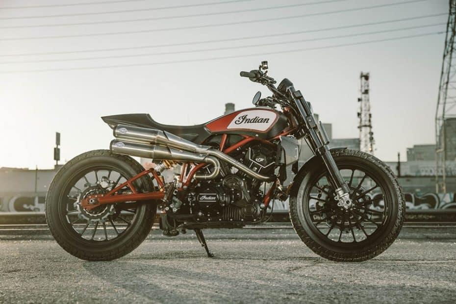 Indian Scout FTR1200 Custom: Un prototipo que soñarás ver hecho realidad