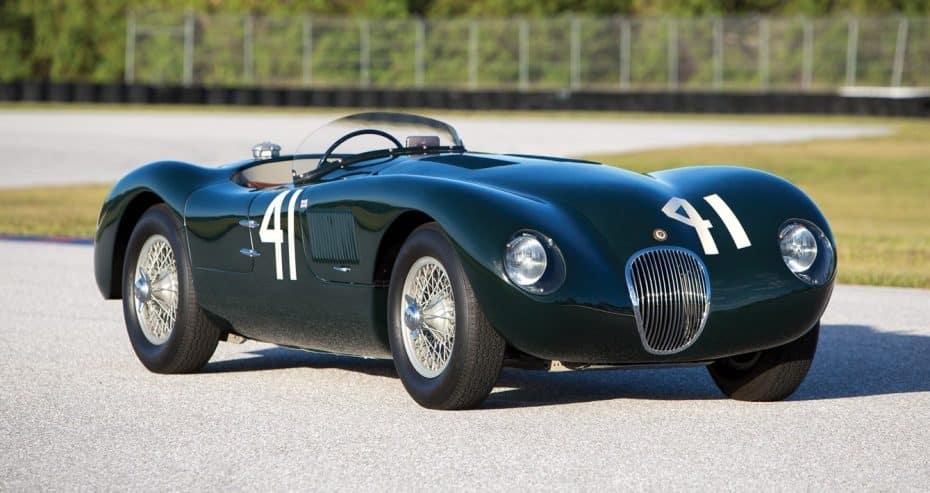 Este Jaguar C-Type de 1952 es toda una joya de museo en perfecto estado ¡Y ahora puede ser tuyo!