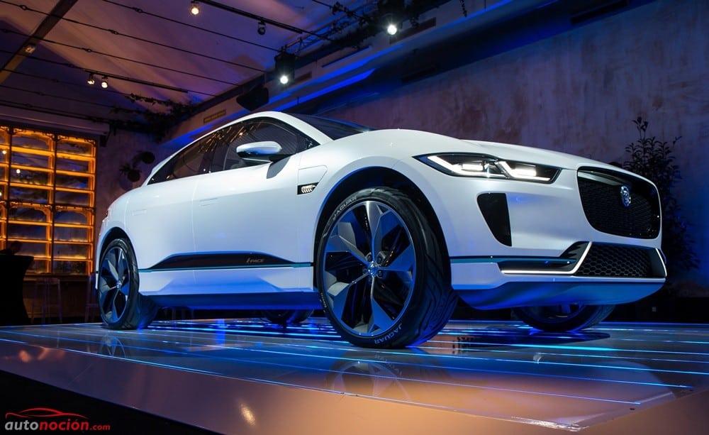 Así es el Jaguar I-PACE que conoceremos el 1 de marzo: Diseño, tecnología y un 80% de batería en 45 minutos