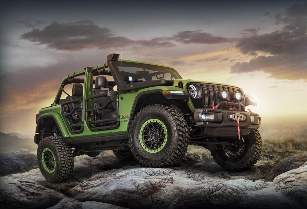 El Jeep Wrangler puede ser aún más salvaje: Ojo a los accesorios que tiene preparados Mopar