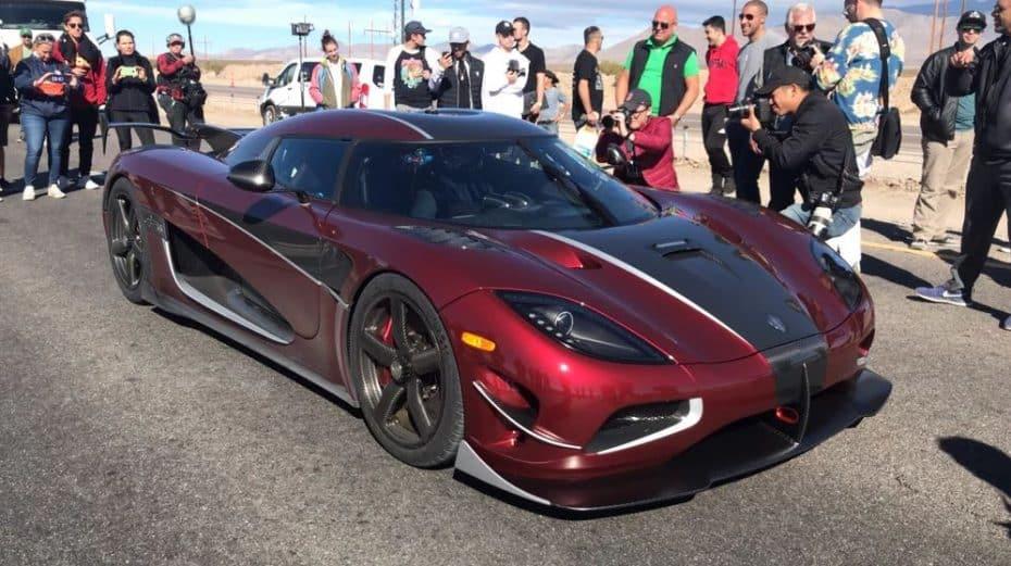 ¡447 km/h! Koenigsegg se vuelve a reír de Bugatti: El Agera RS es el deportivo más rápido del planeta