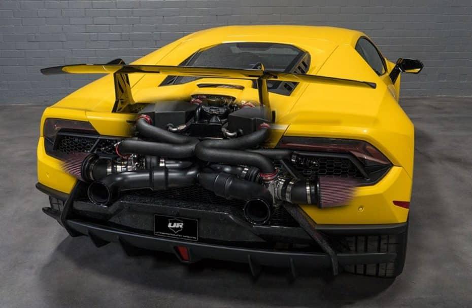 Underground Racing le mete mano al Lamborghini Huracan Performante y ahora es Twin-Turbo: ¿Sacrilegio o maravilla?