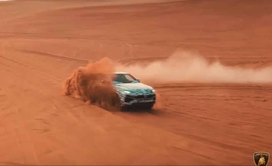 ¡Prometedor! El Lamborghini Urus nos muestra las virtudes de dos de sus 6 modos de conducción