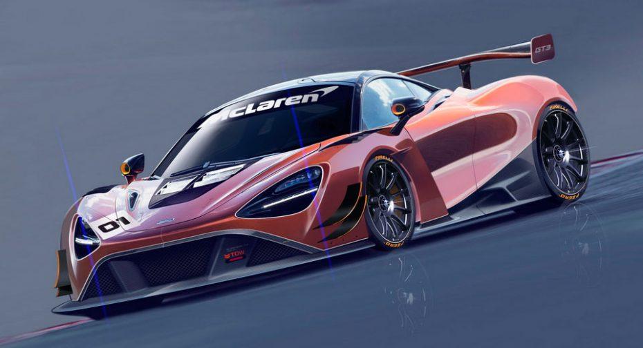 McLaren ya está preparando el sustituto del 650S en la GT3: Así de radical luce el McLaren 720S GT3
