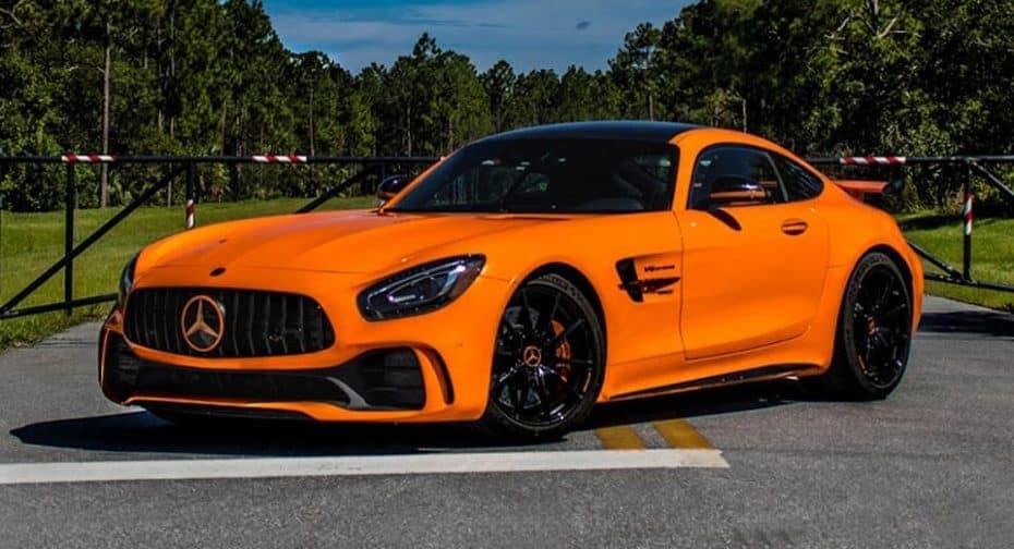 Renntech nos presenta el Mercedes-AMG GT R más salvaje: Hasta 772 CV para esta bestia naranja