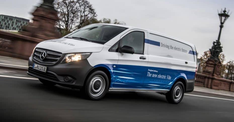 Mercedes-Benz nos muestra la eVito: ¿Se ajustaría a tus necesidades comerciales esta «furgo eléctrica»?