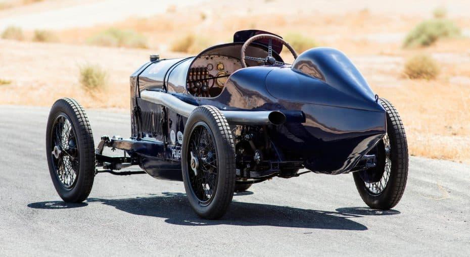 ¡Vendido por más de 6 millones de euros! Este Peugeot L45 Grand Prix de 1914 ya tiene nuevo dueño