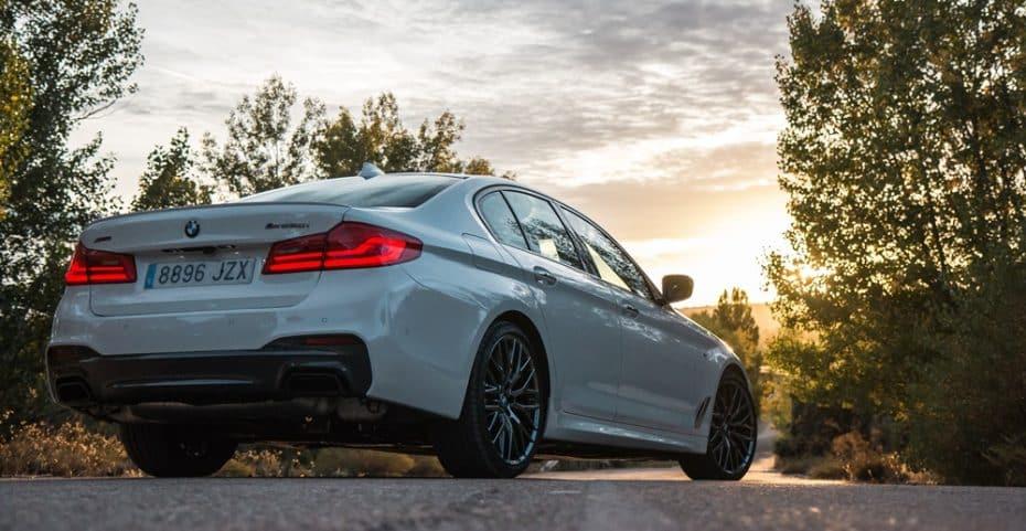 Prueba BMW M550i xDrive 462 CV: Simplemente hablemos de perfección