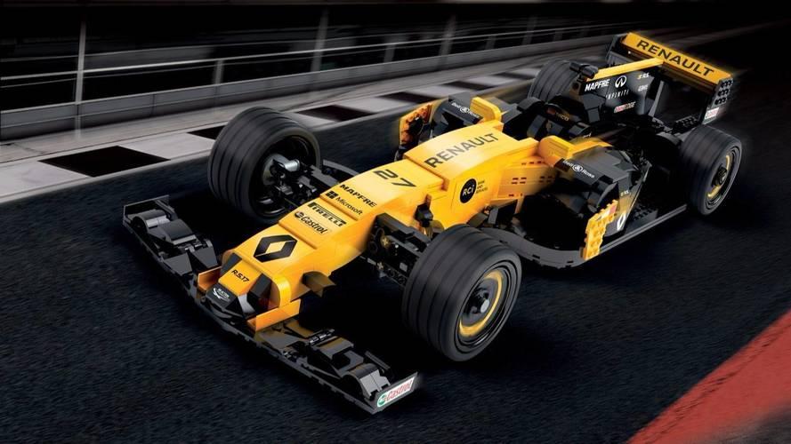Renault construirá un F1 RS17 de LEGO con 600.000 piezas ¡Y a tamaño real!