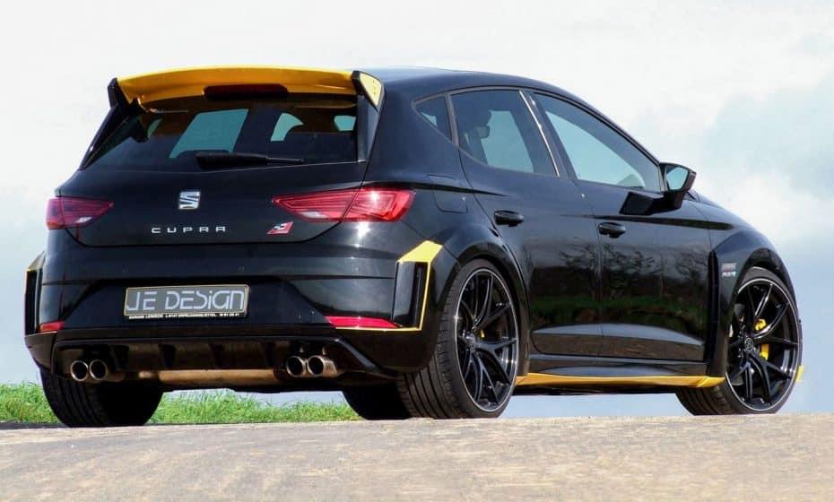 Si el SEAT León CUPRA R te parece algo escaso, atento a esta actualización de 380 CV