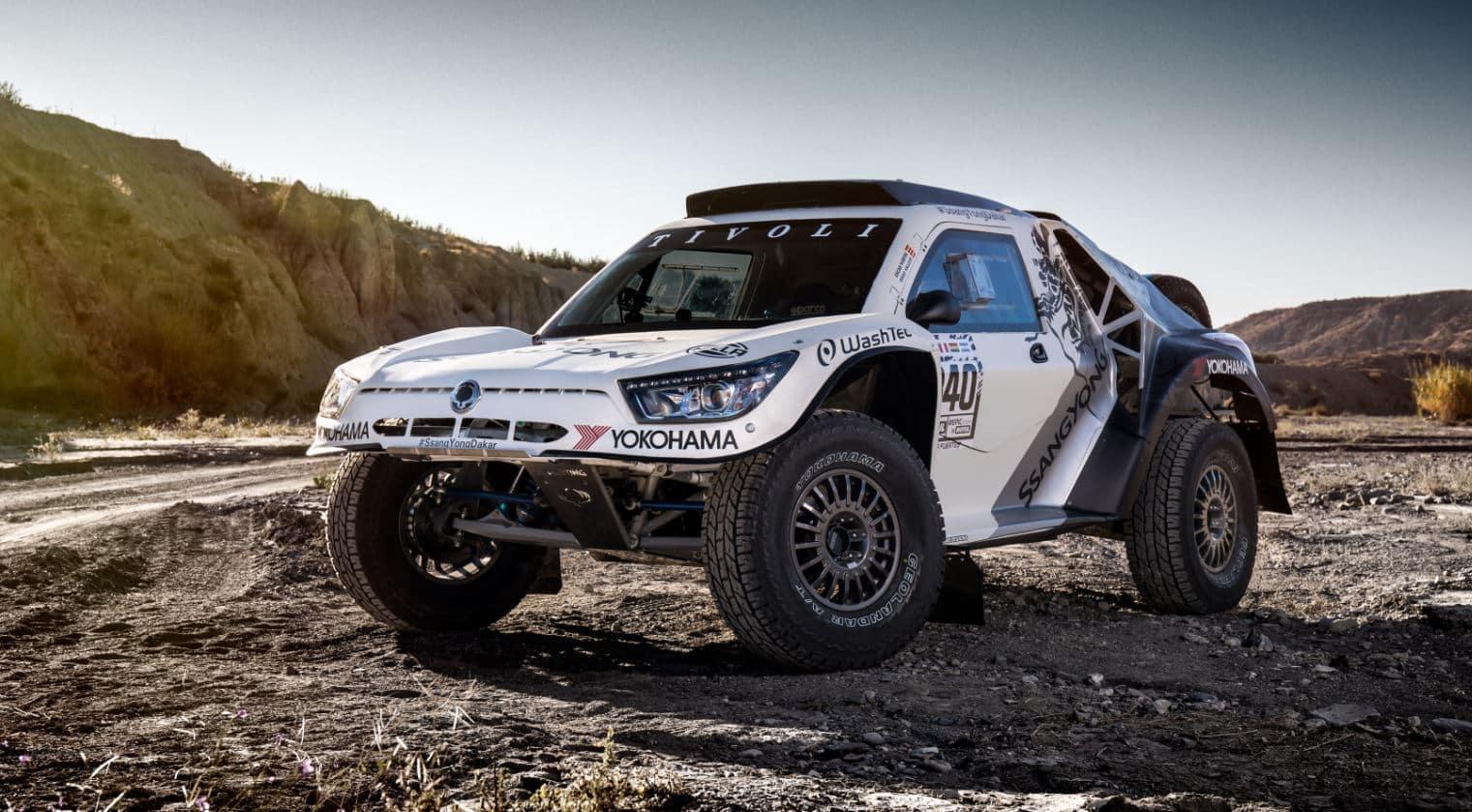 """SsangYong Tivoli DKR: Producto y equipo """"Made in Spain"""" rumbo al Dakar más exigente de la historia"""