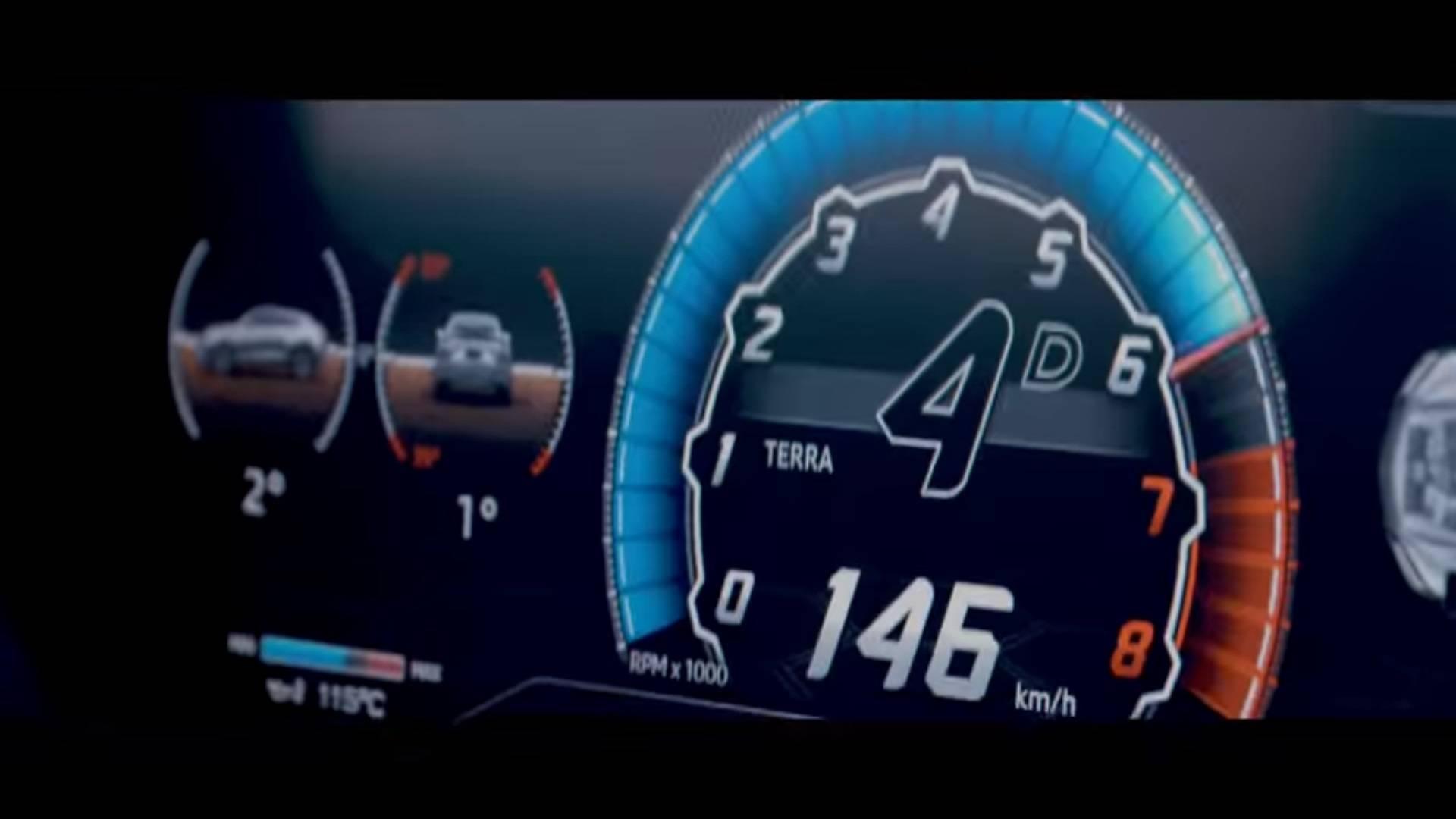 Lamborghini nos muestra el cuadro de instrumentos digital del Urus… ¡E Instagram el interior al completo!
