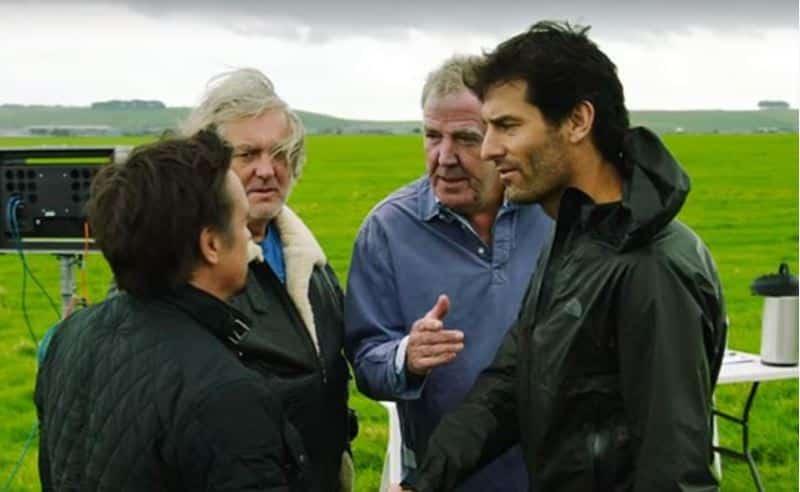 ¿Será Mark Webber el próximo piloto estrella de 'The Grand Tour'? Todo apunta a que sí…