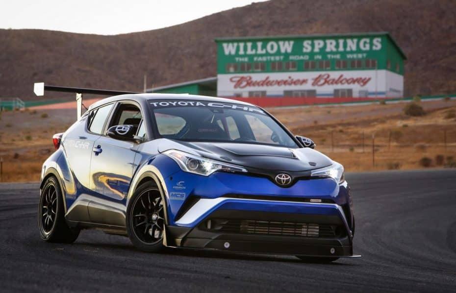 ¡Esto sí que es Toyota!: Se llama C-HR R Tuned y cuenta con un motor de gasolina 2AZ-FE que genera 600 CV