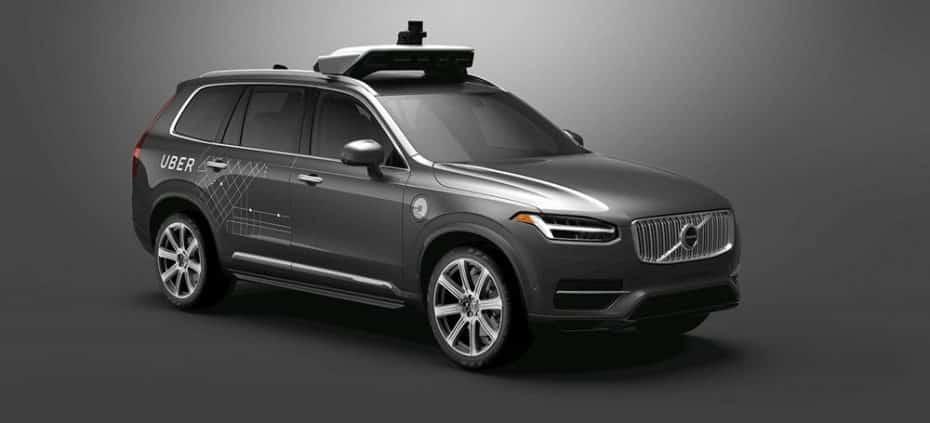 Uber apuesta fuerte por un futuro sin conductores adquiriendo 24.000 Volvo XC90 con tecnología autónoma