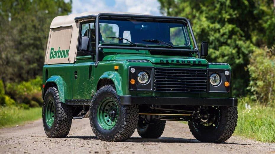 Te presentamos el Project Barbour: Un Land Rover Defender personalizado muy especial