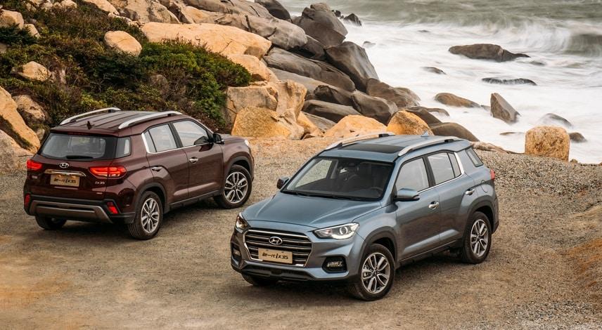 Así es la nueva generación del Hyundai ix35: Regresa el crossover aunque sólo para China