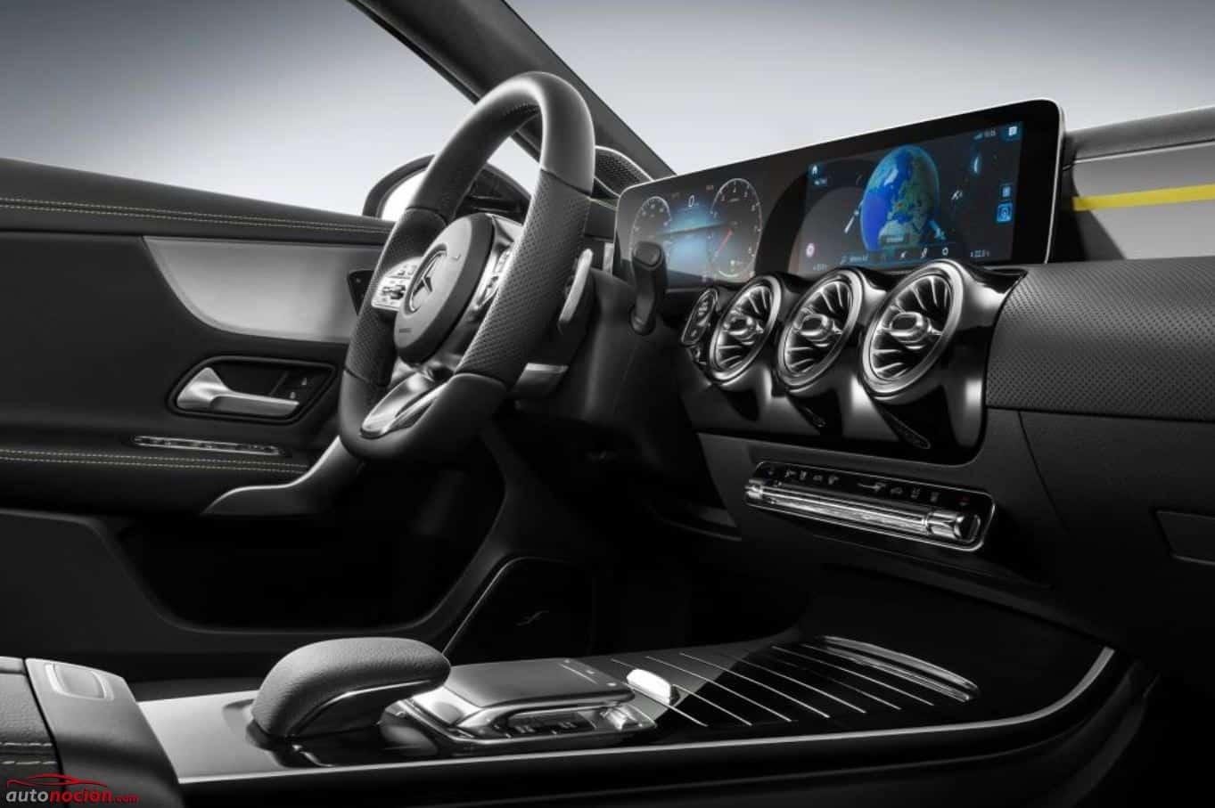 ¡Oficial!: Así es el interior del nuevo Mercedes-Benz Clase A…