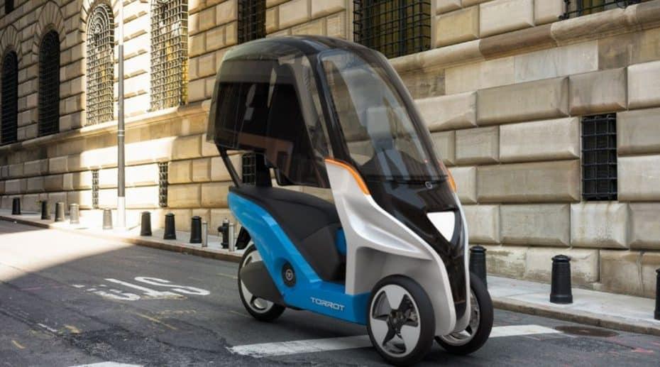 Así es el Torrot Velocípedo, un scooter eléctrico exótico y español
