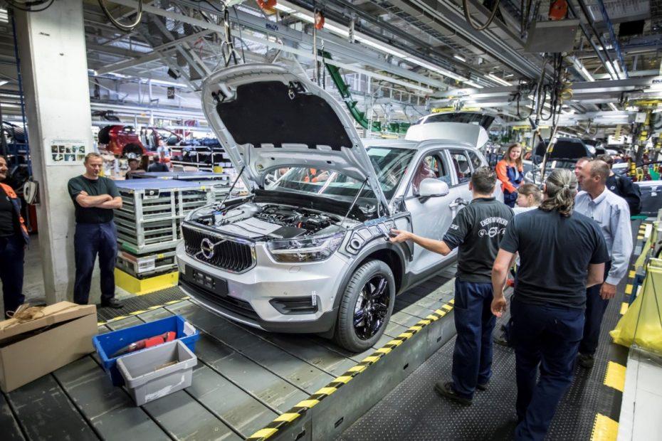 Arranca la producción del nuevo Volvo XC40: Desde Bélgica para todo el mundo