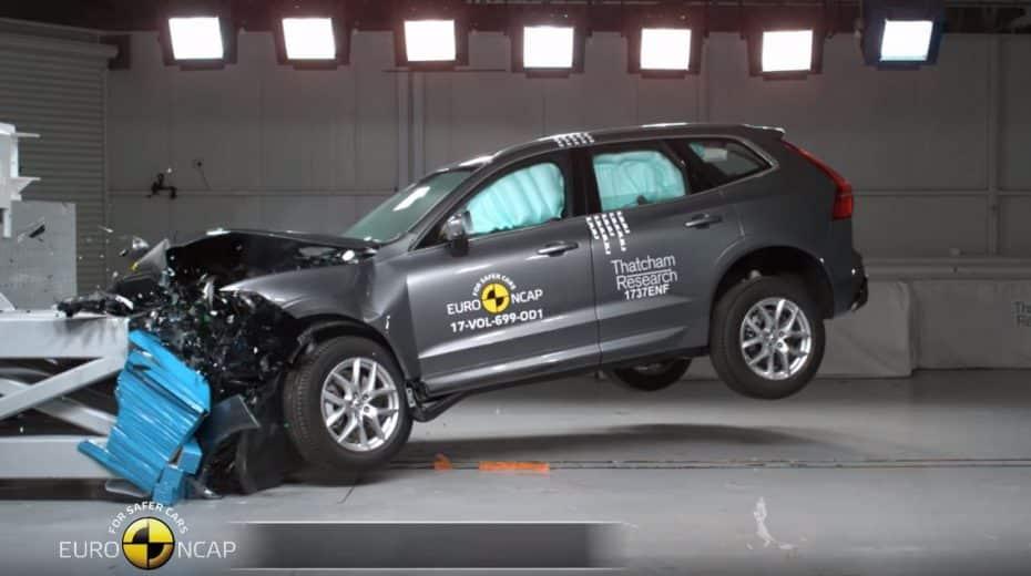 ¡Lluvia de estrellas en Euro NCAP!: Volvo se sale, VW no defrauda y Mitsubishi junto con PSA destacan