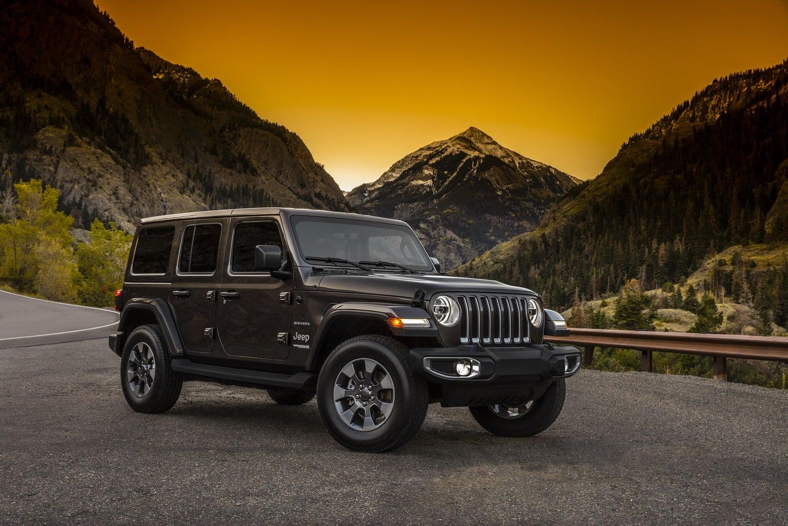 Filtradas las primeras imágenes del nuevo Jeep Wrangler