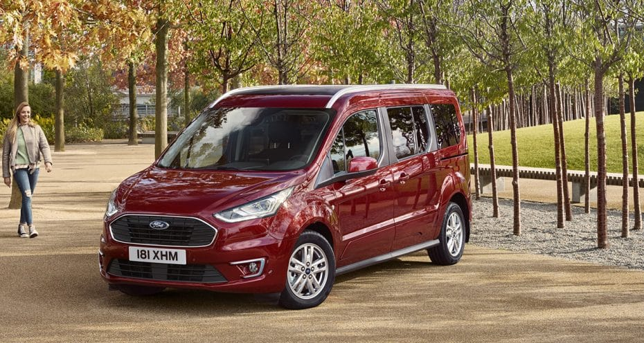 Los Ford Transit/Tourneo Connect también se actualizan