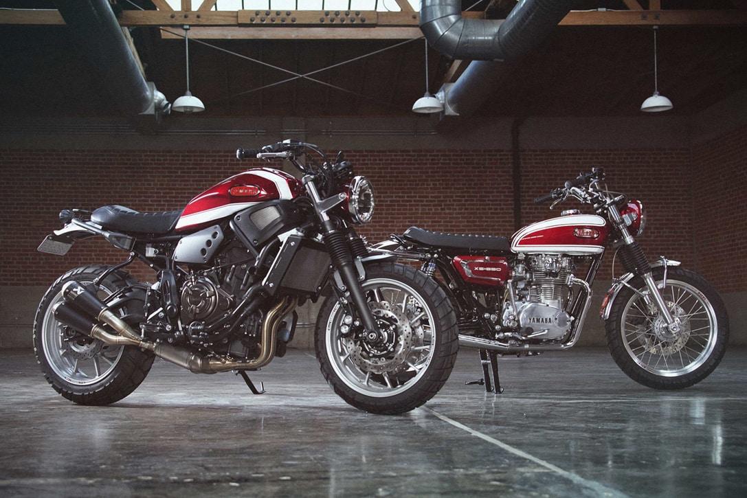 'De tal palo tal astilla': Así son las Yamaha Yardbuilts XSR 700 y XS 650
