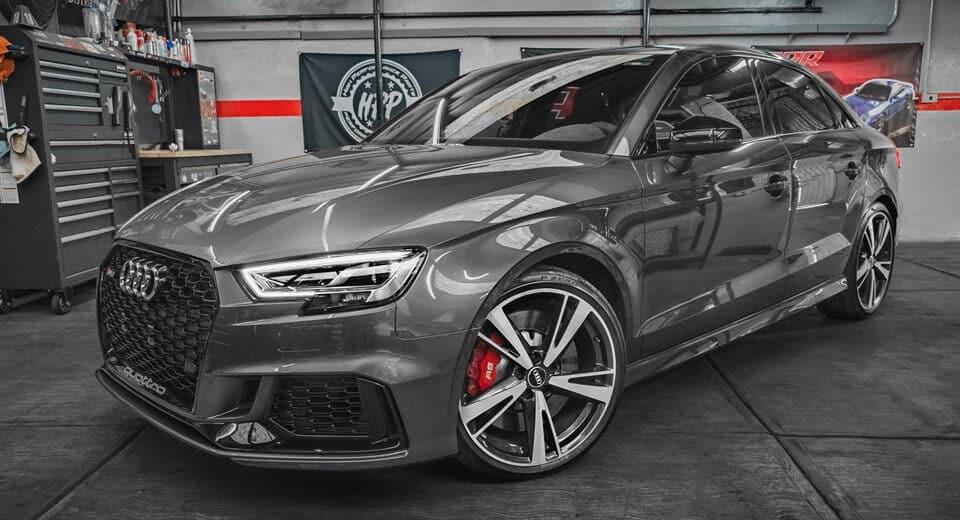 Queridos Reyes Magos… ¡Queremos este Audi RS3 Sedán!