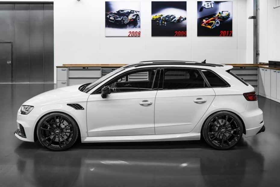 ¿Se te queda corto el Audi RS3 de serie? Tranquilo, la última bestia de ABT alcanza los 500 CV
