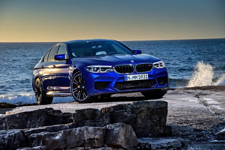 El BMW M5 2018 nos muestra sus virtudes en una nueva y extensa galería de imágenes