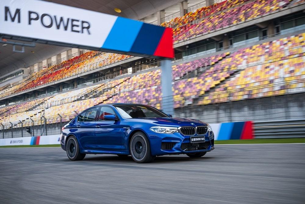El BMW M5 acaba de llegar y ya ha cosechado su primer récord en Shanghái