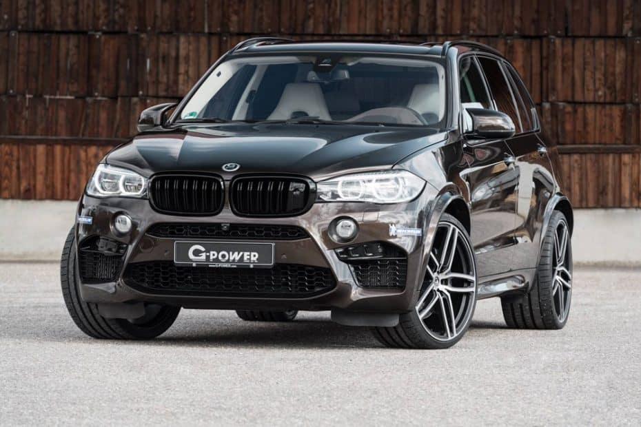 Hasta 750 CV y casi 1.000 Nm de par para el BMW X5M cortesía de G-Power