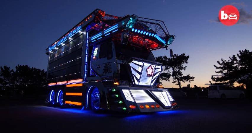 ¿Conoces los camiones Dekotora?: Este extravagante tuning japonés puede llegar a salir muy caro
