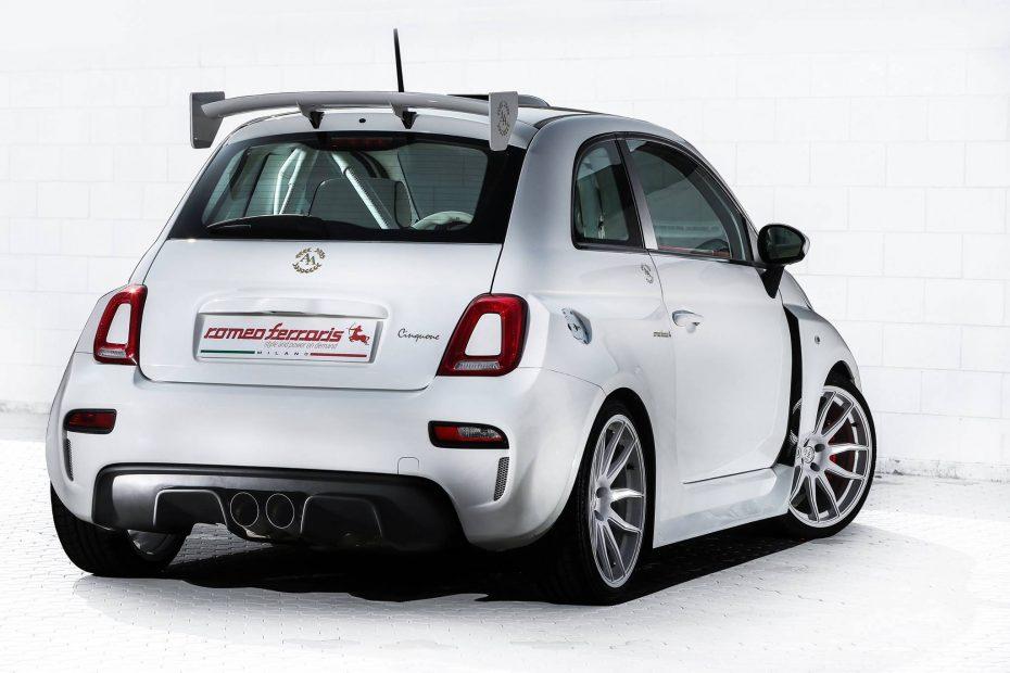 Te presentamos el Cinquone Qatar, un Fiat 500 de 250 CV y un aspecto que no pasa desapercibido…