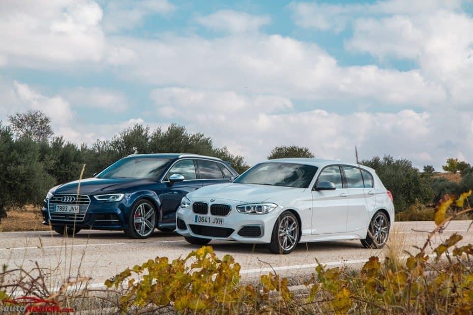Comparativa Audi S3 Sportback vs. BMW M140i: El niño pijo le planta cara al chico rebelde
