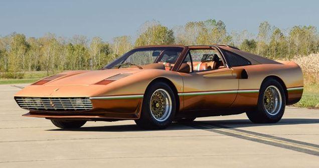 Así es el extravagante Ferrari que conducía el creador del Batmobile y KITT ¡Y ahora puede ser tuyo!
