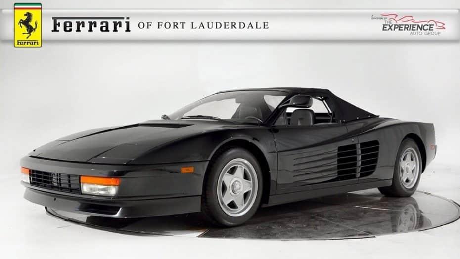 Este FerrariTestarossa es único en el mundo y probablemente lo recuerdes con Michael Jackson al volante