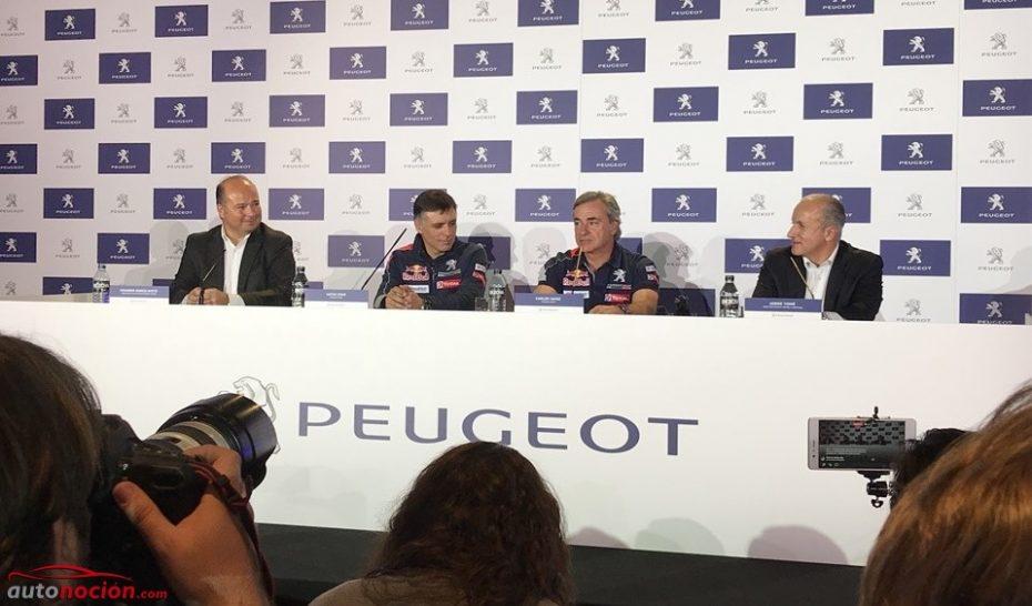Este será el último año de Peugeot en el Dakar pero, ¿será también el último de Carlos Sainz?