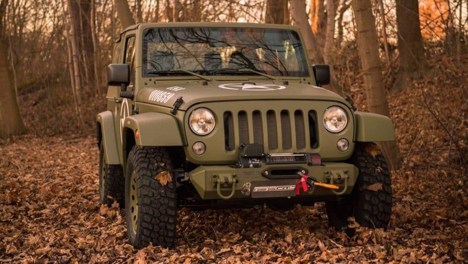 Este Jeep Wrangler es un tributo al icónico Willys y querrás tenerlo en tu garaje