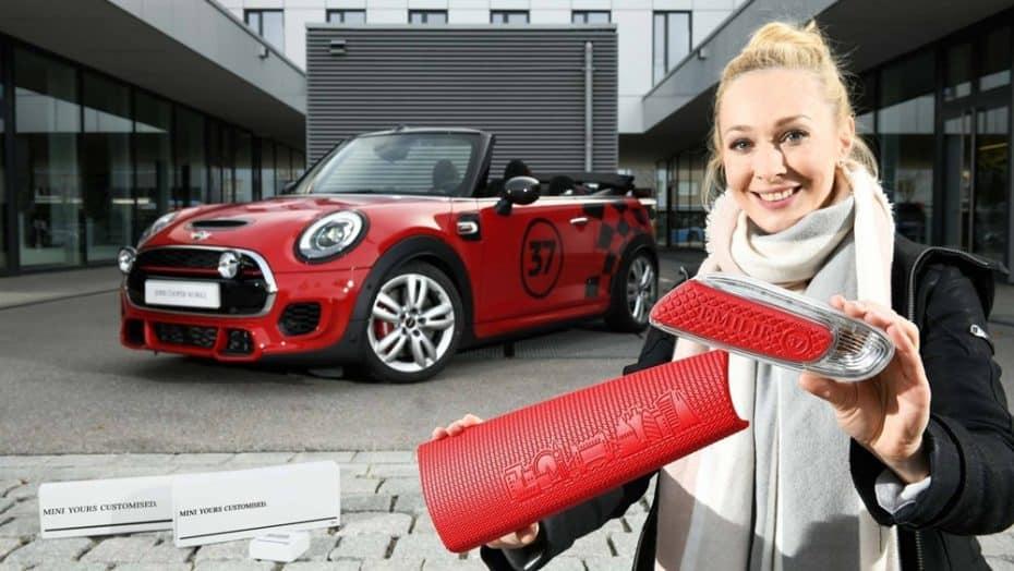 ¿Personalizar el coche usando tus propias piezas impresas en 3D? MINI lo hará realidad en 2018